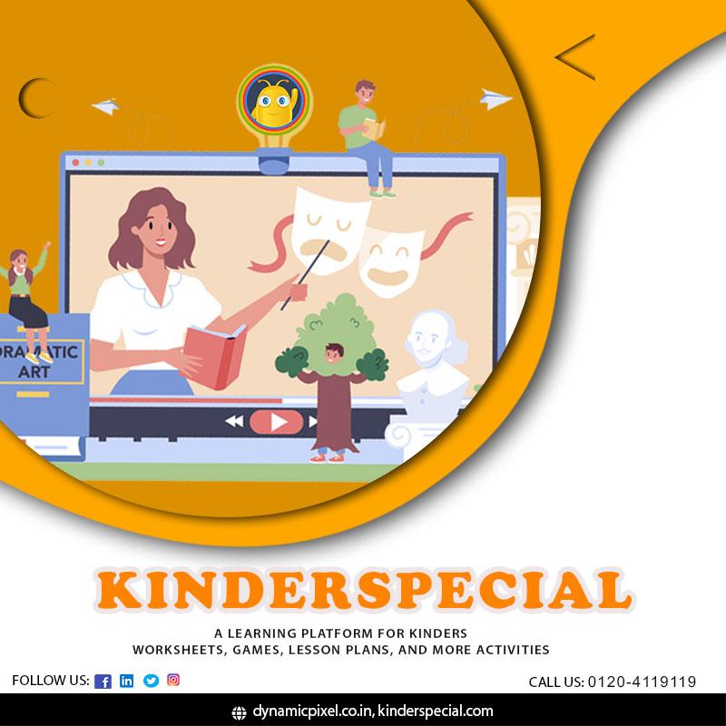 KinderSpecial learning platform